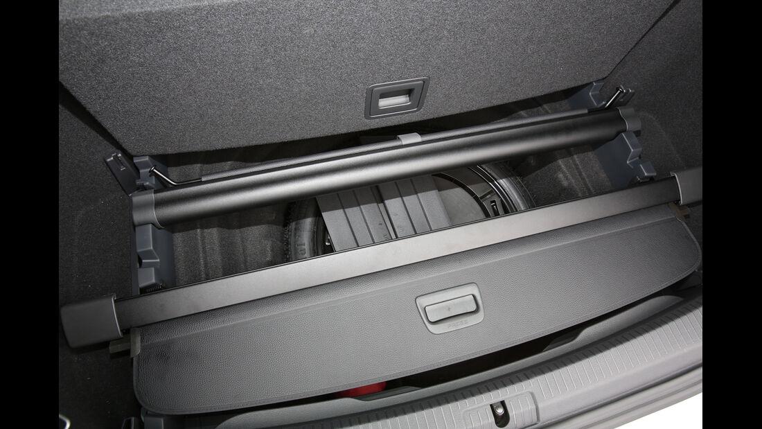 VW Golf Variant, Ablagefach