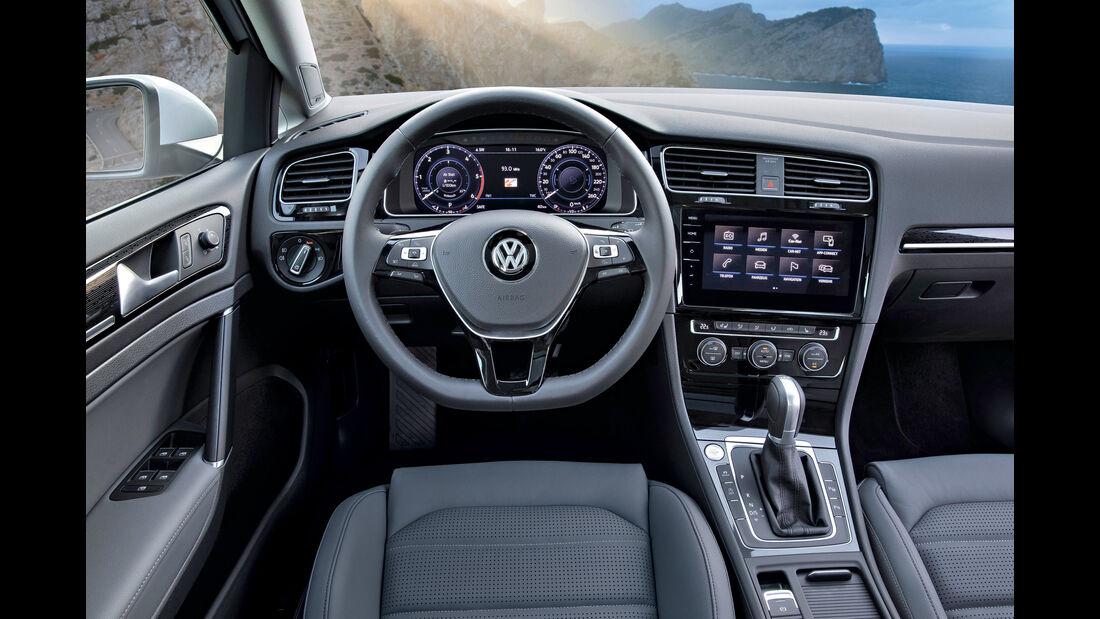VW Golf Variant, Cockpit