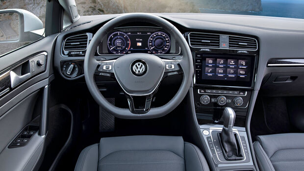 VW Golf Variant, Cockpit
