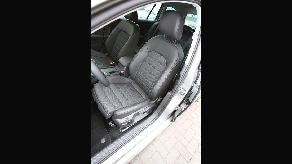 VW Golf Variant, Fahrersitz