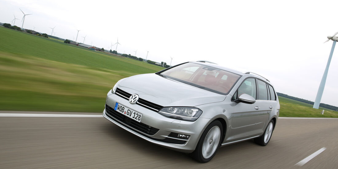 VW Golf Variant, Frontansicht