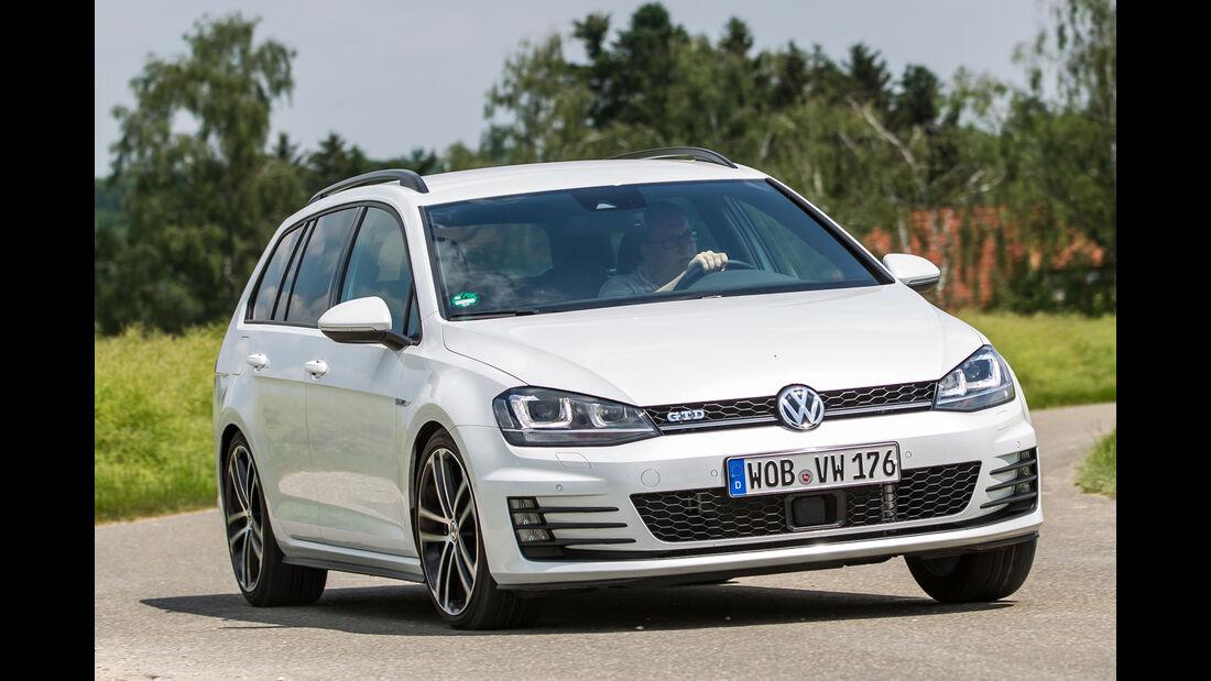 VW Golf Variant GTD, Frontansicht