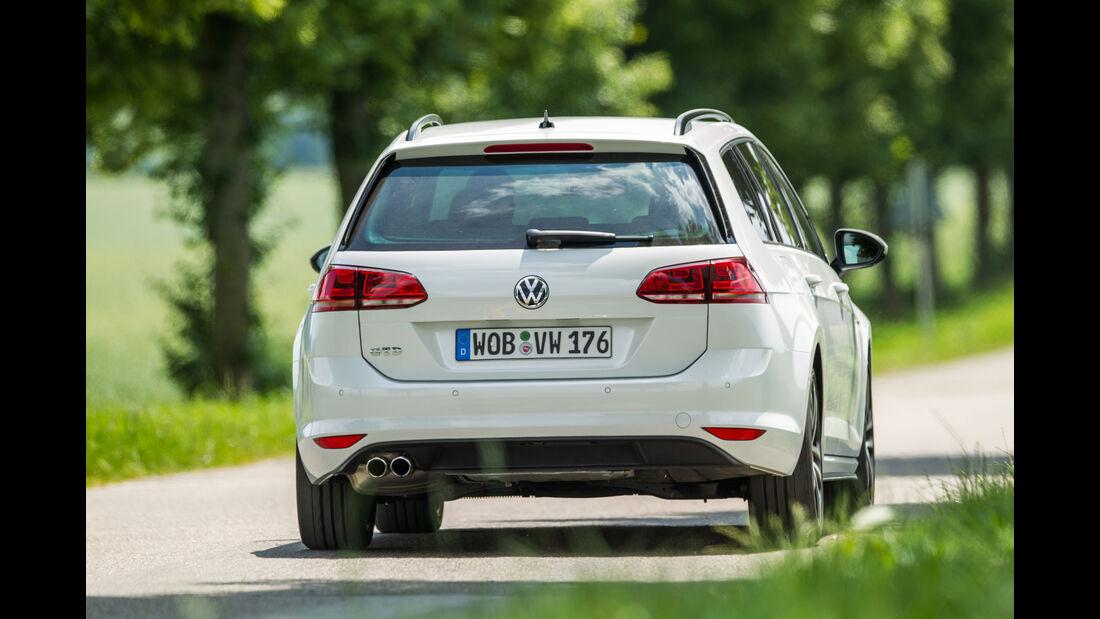 VW Golf Variant GTD, Heckansicht