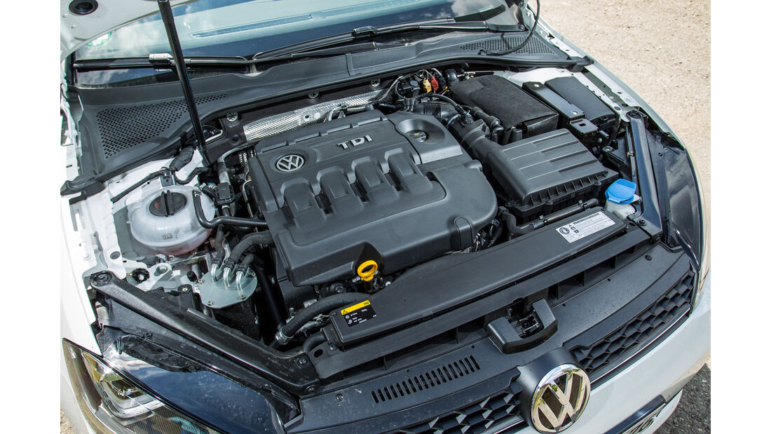 VW Golf Variant GTD, Motor