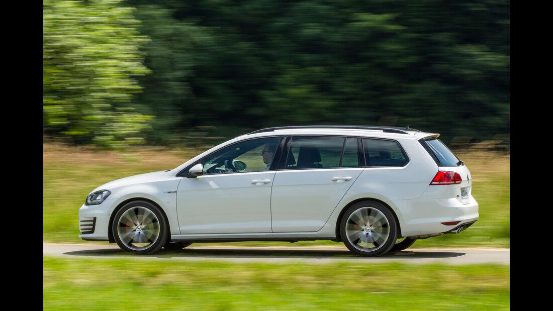 VW Golf Variant GTD, Seitenansicht