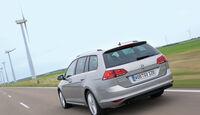 VW Golf Variant, Heckansicht