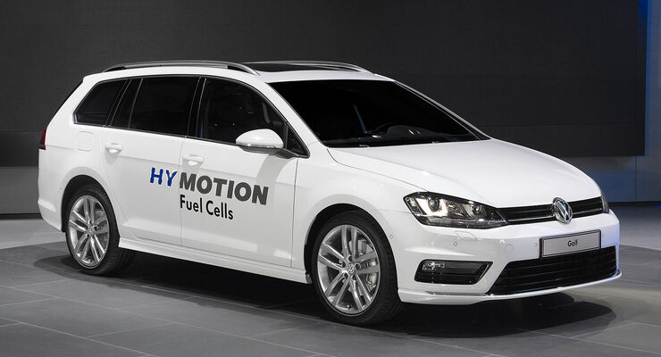 VW Golf Variant HyMotion