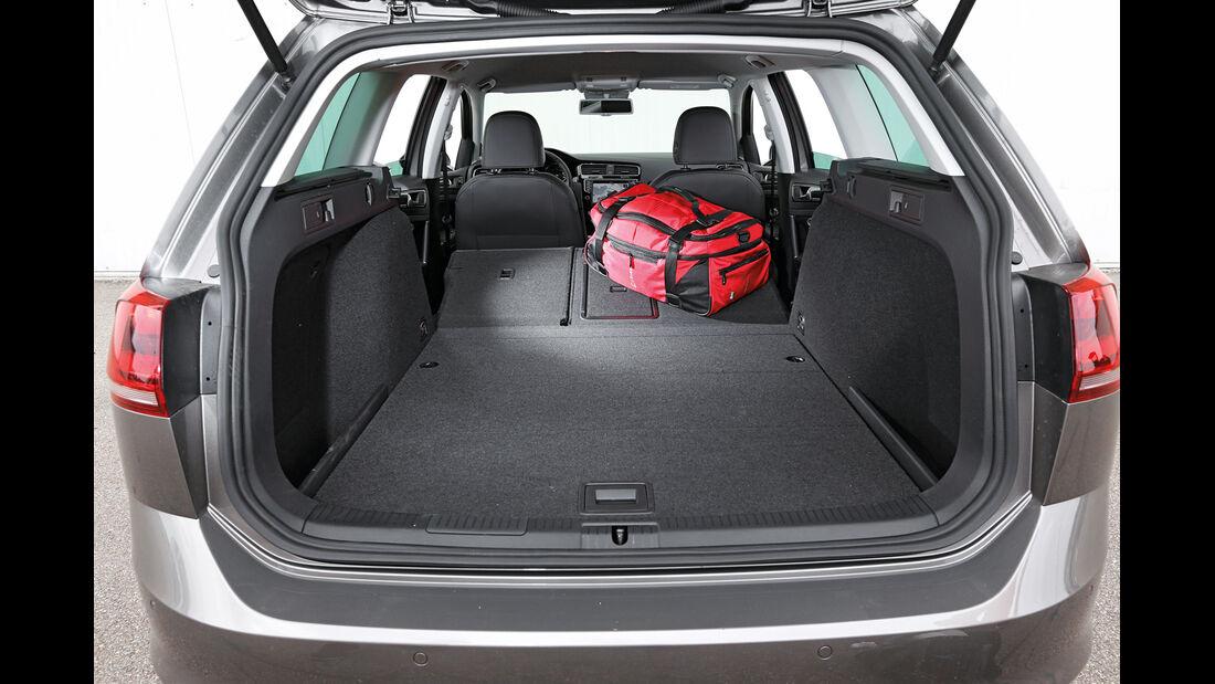 VW Golf Variant, Kofferraum, Ladefläche