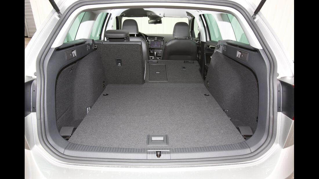 VW Golf Variant, Ladefläche, Kofferraum