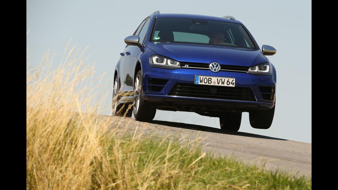 VW Golf Variant R, Frontansicht