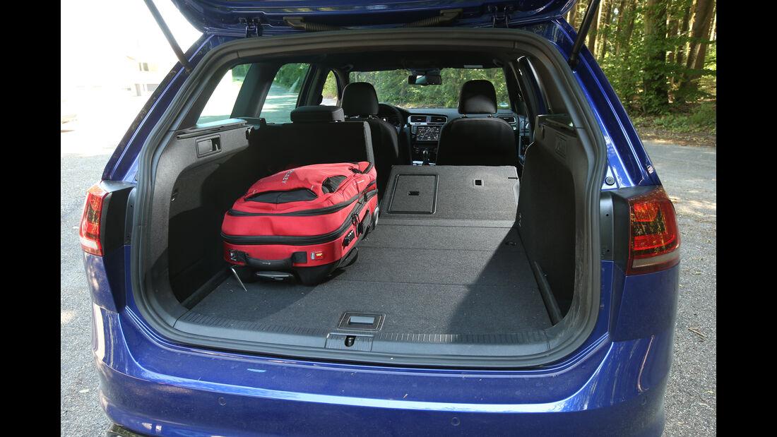 VW Golf Variant R, Kofferraum