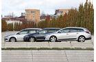 VW Golf Variant, Renault Megane Grandtour, Ford Focus Turnier