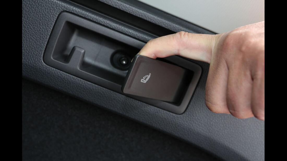 VW Golf Variant, Sitz Umklappen, Schalter