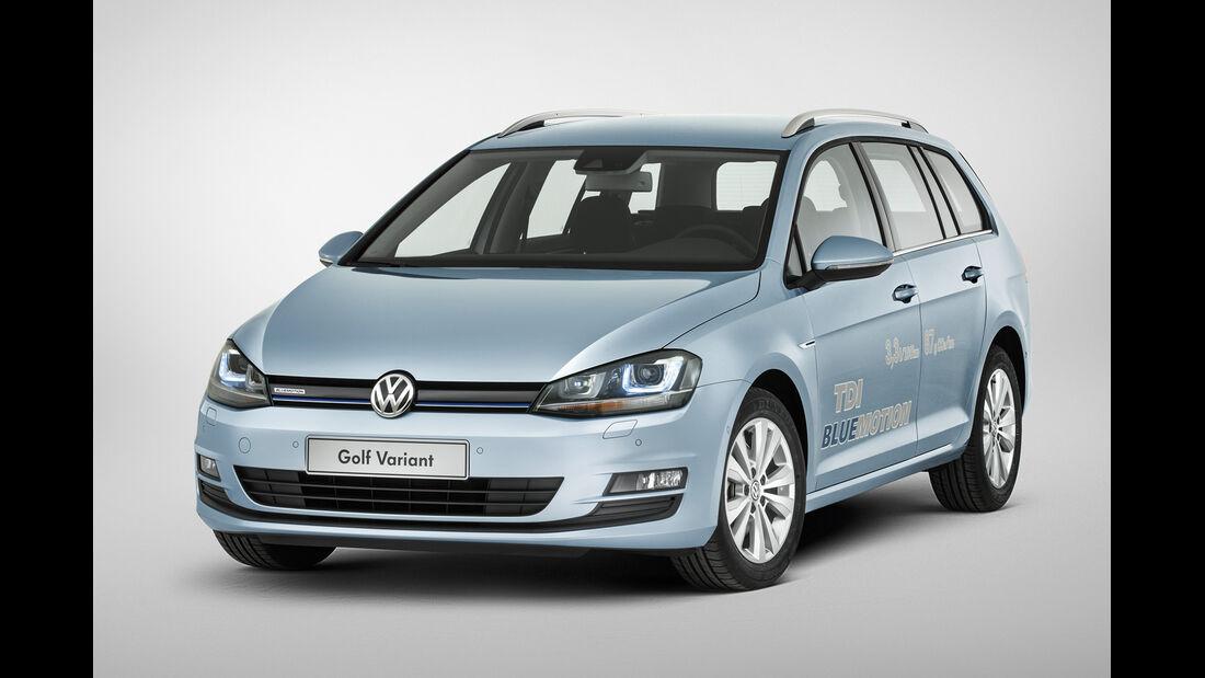 VW Golf Variant TDI Blue Motion, Frontansicht