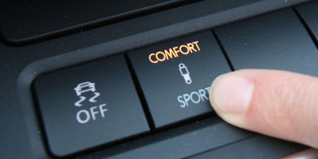 VW Golf, adaptives Fahrwerk