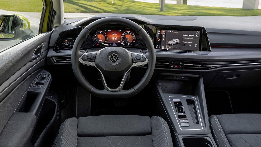 VW Golf eHybrid, Interieur