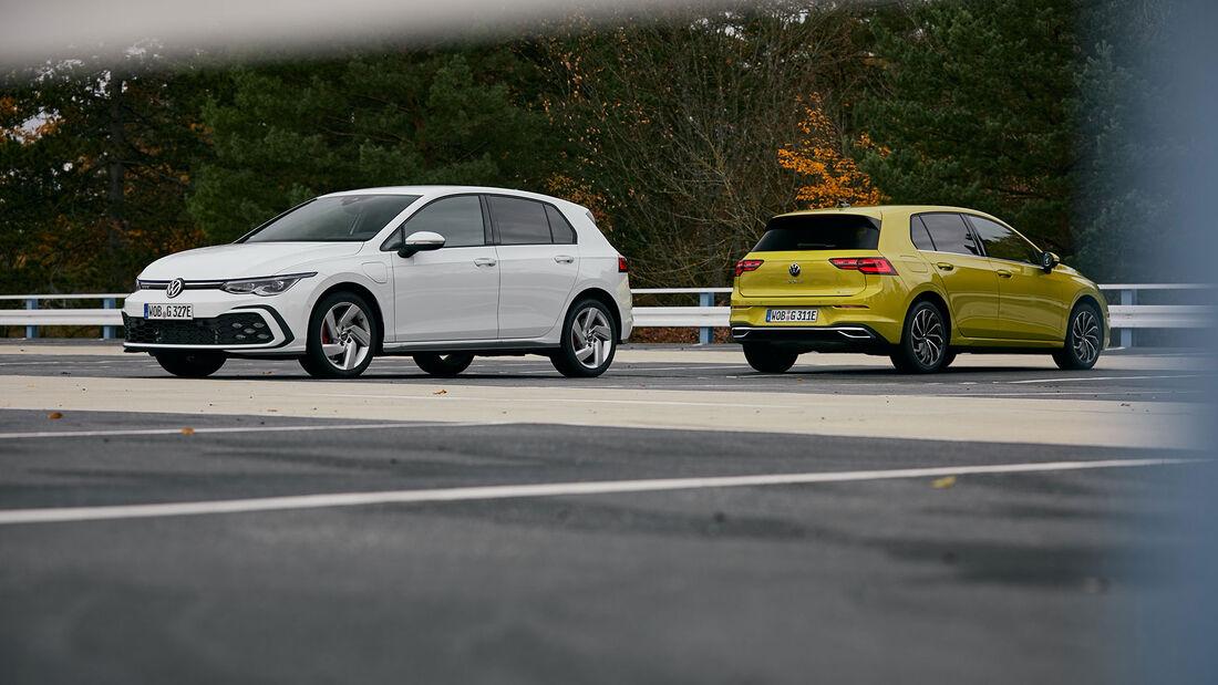 VW Golf eHybrid und GTE, ams 0221 Vergleich