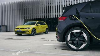 VW Golf gegen VW ID.3