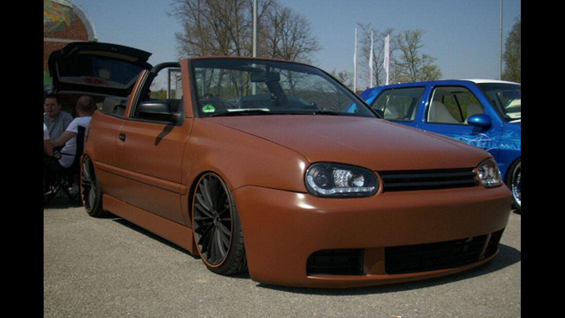VW Golf mit Mattlack