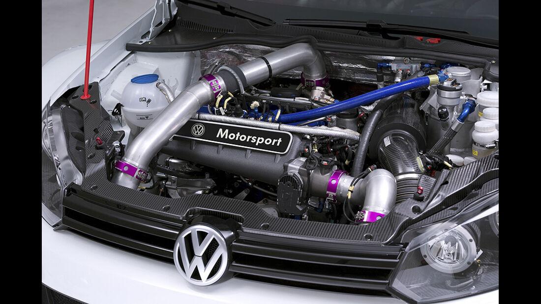 VW Golf24 Rennwagen Nürburgring, Motor