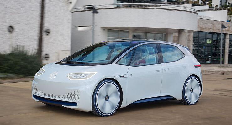 VW I.D. im Fahrbericht: So fährt Volkswagens Elektro-Zukunft - auto ...