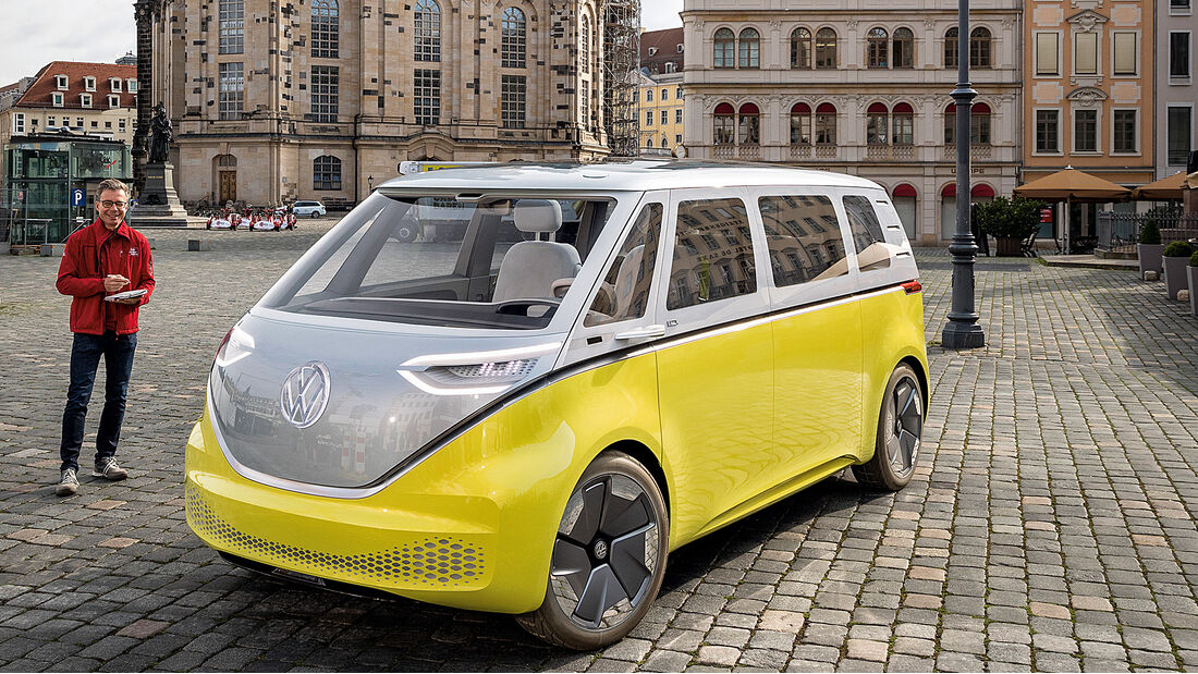 VW I.D. BUZZ, Impression, Front