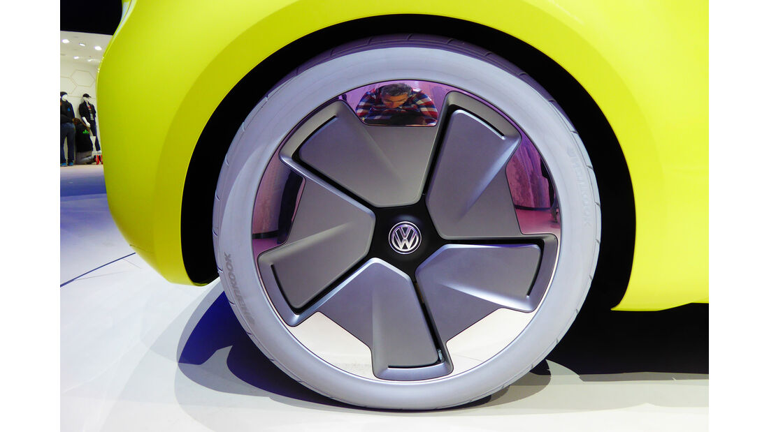 VW I.D. Buzz - Felgen - IAA 2017