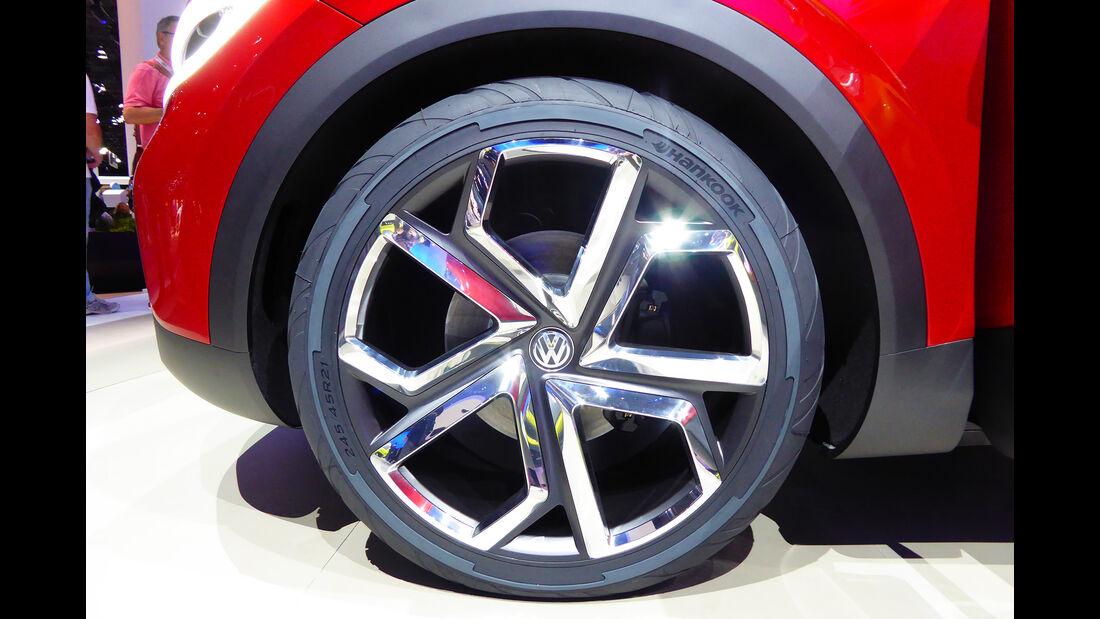 VW I.D. Crozz 2 - Felgen - IAA 2017