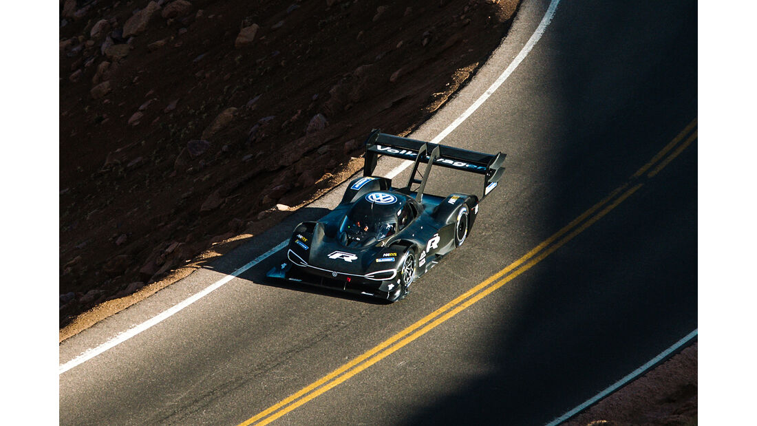 VW I.D. R Pikes Peak Erprobung