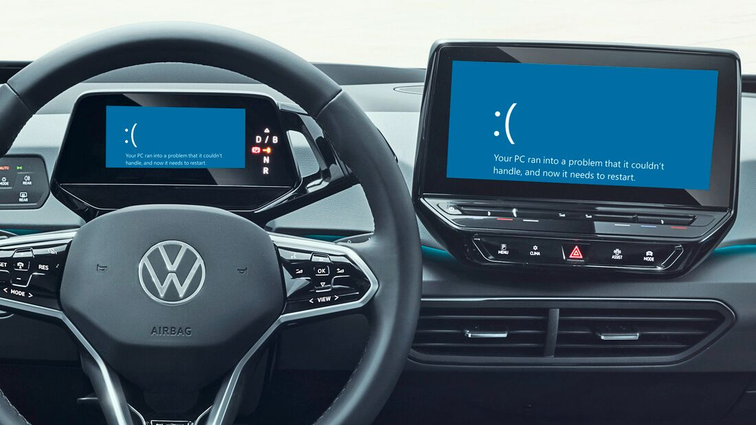 VW ID.3 (2020) Softwareprobleme