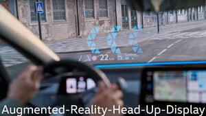 VW ID.3 Headup-Display