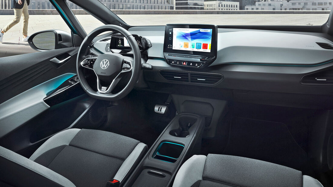 VW ID.3, Interieur