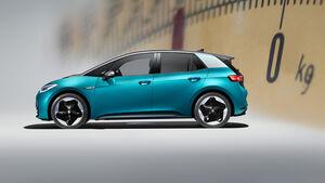 VW ID.3 Nutzlast Anhängelast null Kilo