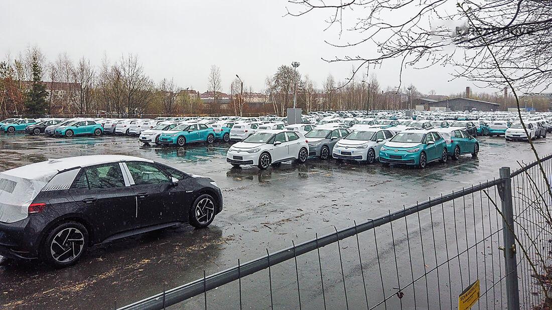 VW ID.3 Produktion Halde