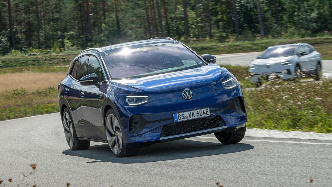 VW ID.4, Erprobungsfahrt