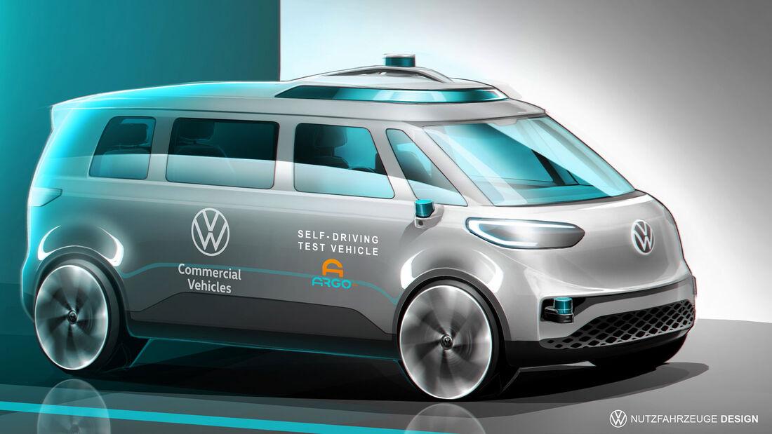 VW ID.Buzz Autonom