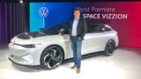 VW ID. Space Vizzion Sitzprobe LA 2019