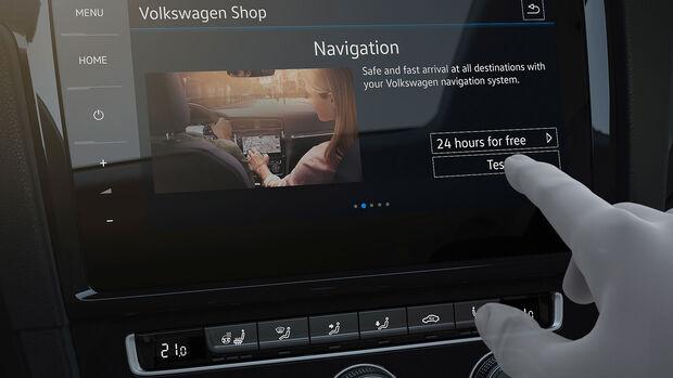 VW Infotainmentsystem CES 2017