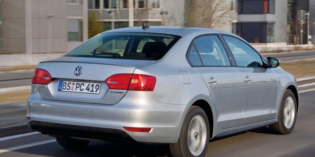 VW Jetta 1.4 TSI Hybrid, Heckansicht
