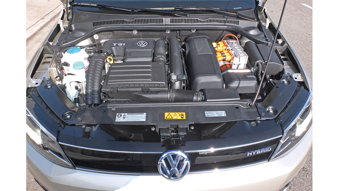 VW Jetta 1.4 TSI Hybrid, Motor