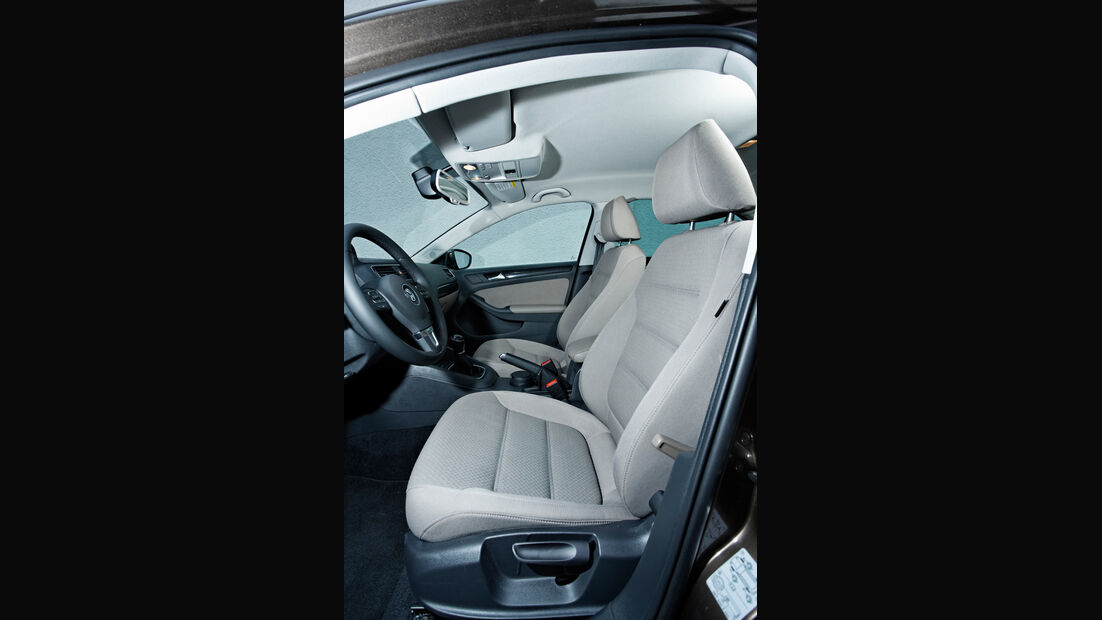 VW Jetta 1.6 TDI, Fahrersitz