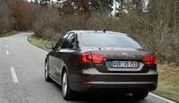 VW Jetta 1.6 TDI, Heckansicht