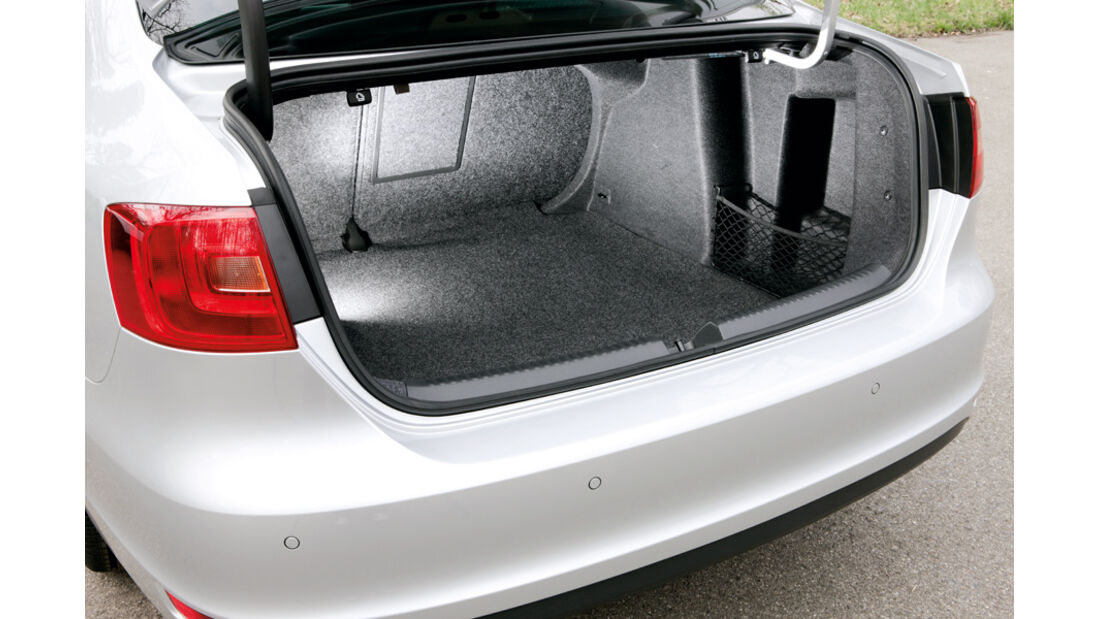 VW Jetta 1.6 TDI, Kofferraum