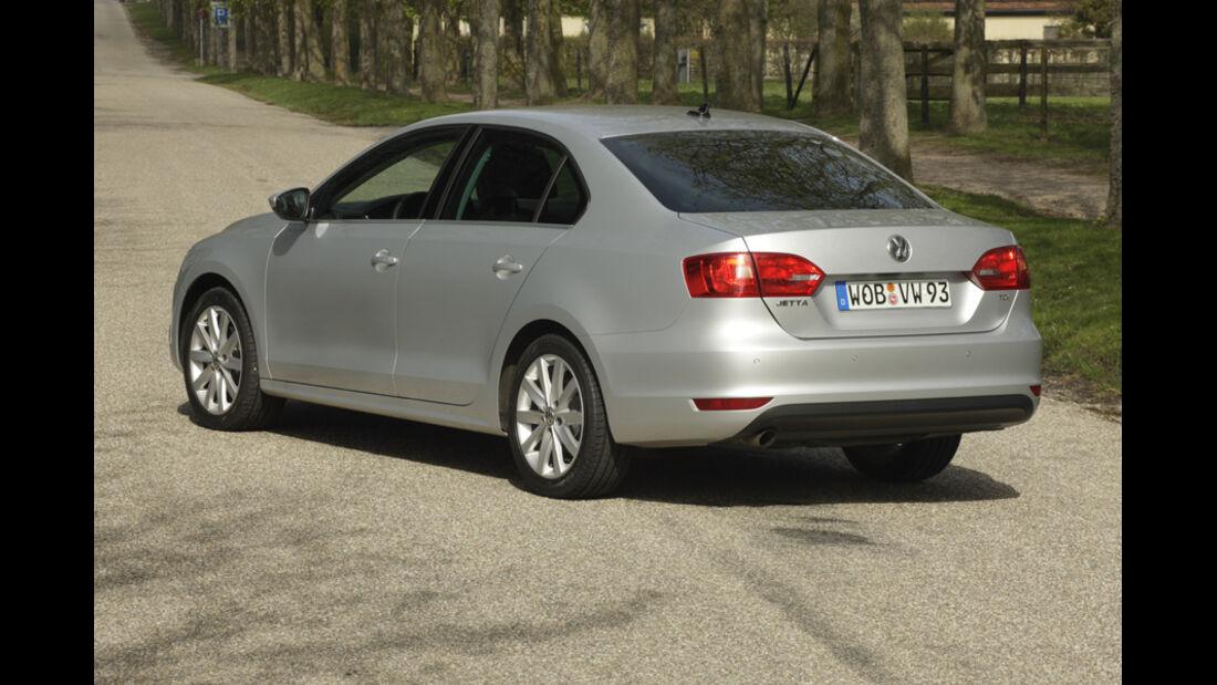 VW Jetta 1.6 TDI, Rückansicht