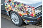 VW Jetta 1.8, Aufkleber