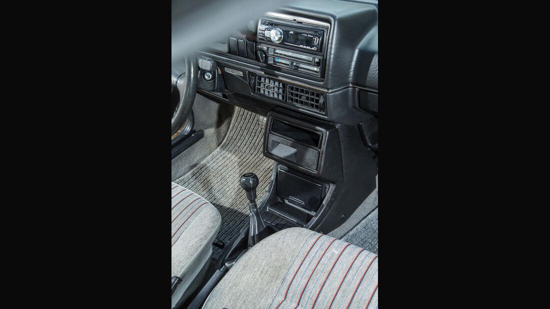 VW Jetta 1.8, Mittelkonsole