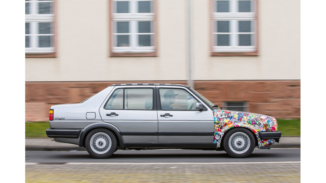 VW Jetta 1.8, Seitenansicht