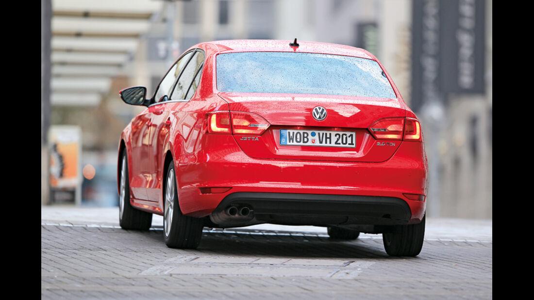 VW Jetta 2.0 TDI Highline, Heck