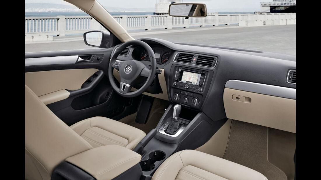 VW Jetta, Cockpit, Innenraum