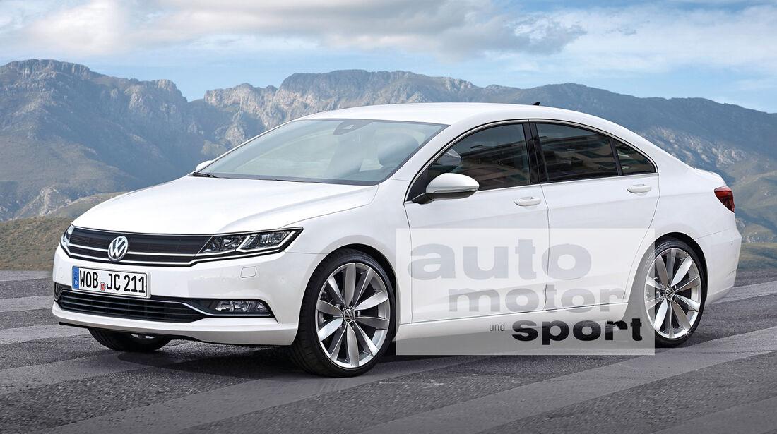 VW Jetta Coupé, Seitenansicht